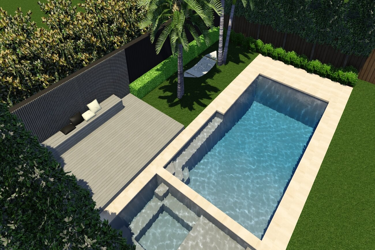 Hayman Pool and Spa11m x 4m