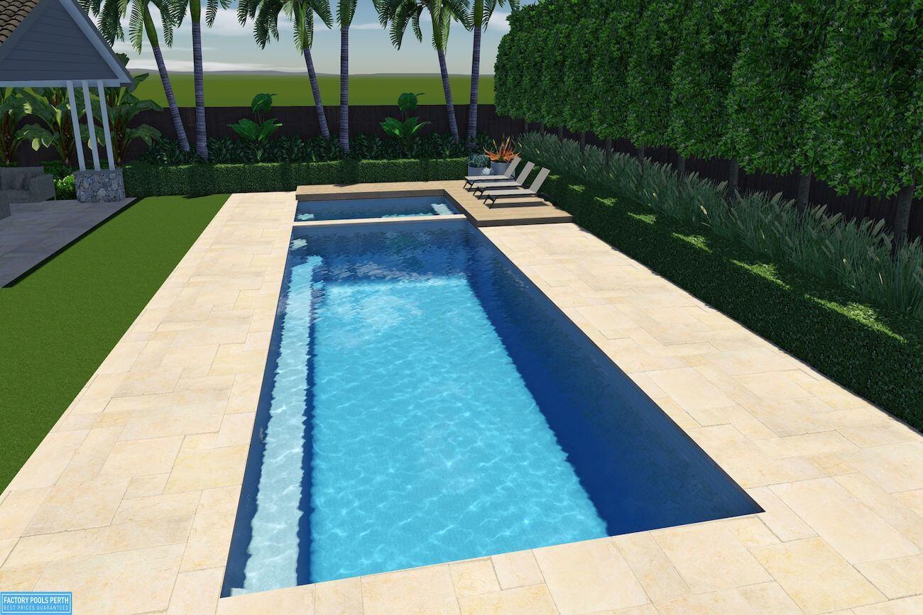 Horizon Pool and Spa8.5m x 3.6m