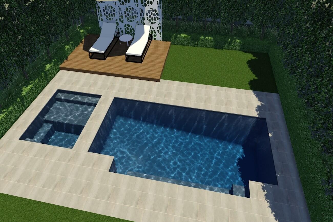 Medina Pool and Spa10m x 3.6m